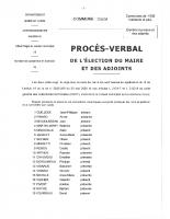 25 mai 2020 élections