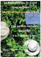 affiche lectures au jardin 06-21